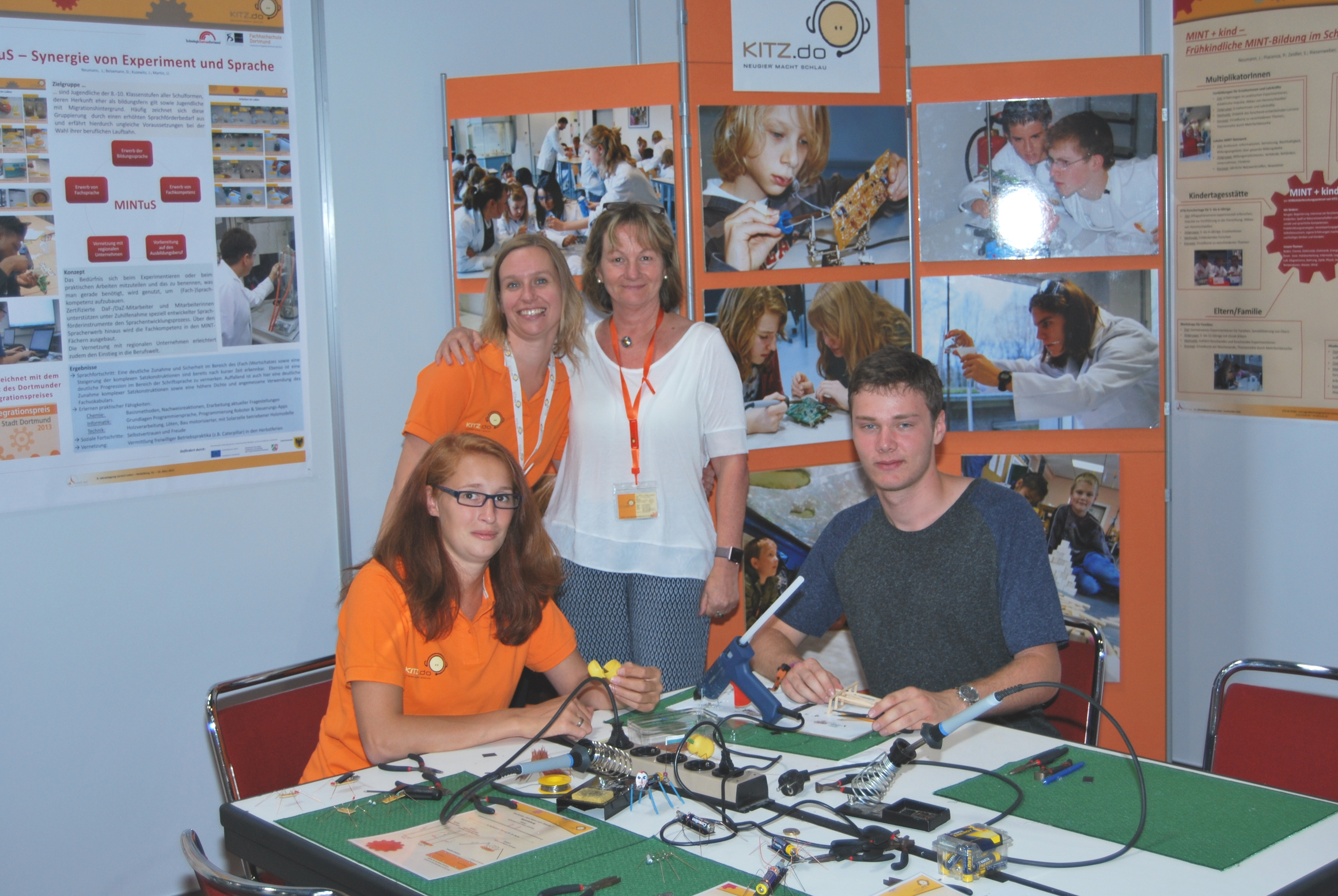 RCE-Auszeichnung KITZ.do Messe Fair Friends Dortmund 2016